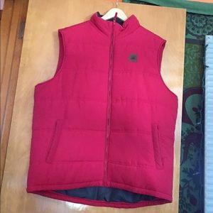 Field & Stream Red Puffy Vest